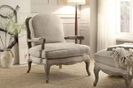 Show Wood Accent Chair