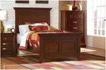 2pc Kids Bedroom Set w/Twin Bed