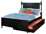 Twin Bed w/Trundle