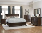 2pc Bedroom Set w/King Low Profile Bed