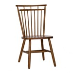 Spindle Back Side Chair - Tobacco ( Set Of 2 )
