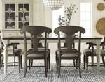 Leg Table + (4) 240 Side Chairs