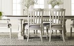 Trestle Table + (4) 140 Side Chairs