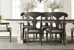 Trestle Table + (4) 240 Side Chairs