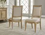Upholstered Back Side Chair (Upholstered Back & Seat, Seat Height: 18