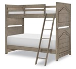Farm House Complete Twin over Twin Bunk Bed