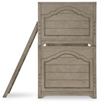 Farm House Bunk Headboard & Footboard, Twin