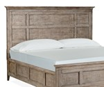 King Panel Bed Headboard