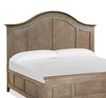 King Bed Arched Headboard