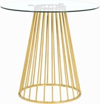 Gio Gold Counter Height Table