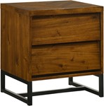 Reed Antique Coffee Night Stand