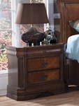 Sheridan Nightstand - Burnished Cherry
