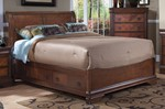 Sheridan 5/0 Q Bed w/Storage Base