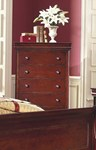 Versailles Lift Top Chest - Bordeaux