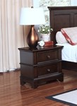 Prescott Nightstand - Sable