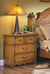 Hailey Nightstand - Toffee