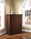 Madera Lift Top Chest - Afr.Chestnut