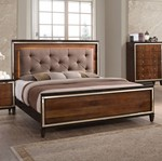 6/6 King Lighted Bed