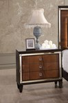 Claire Nightstand - Chocolate
