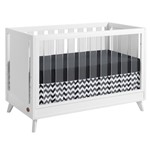 Holland Island 3 In 1 Acrylic Convertible Crib White