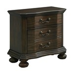 Picket House Furnishings Serena 3-Drawer Nightstand with USB Ports
