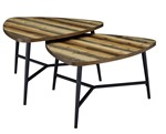 Picket House Furnishings Gibson Nesting Coffee Table Set