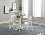 Complete Round Dining Table