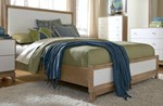 King Upholstery Bed