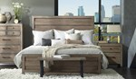 2pc Bedroom Set w/Queen Low Panel Bed