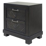 Montana 2-drawer Nightstand - Dark Oak
