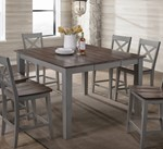 A La Carte Counter Height Dining Table - Grey