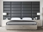 Accent Wall Panels for King Bed with Nightstnad - 3 Boxes of [30 x 46] & 3 Boxes of [39 x 46]