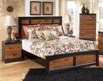 2pc Bedroom Set w/Twin Panel Bed
