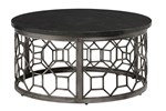 Table Cocktail Round Metal Base
