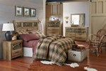 2pc Bedroom Set w/Full/Queen Panel Headboard
