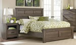 2pc Bedroom Set w/Full Panel Bed