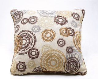 6 Serendipity Contemporary Twinkle Fabric Pillows