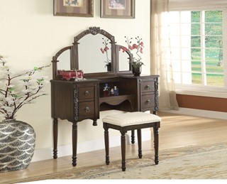 241+ Bedroom Vanity Set and Makeup Vanity Set by The Classy Home