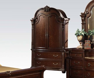 Anondale Traditional Cherry Wood TV Armoire