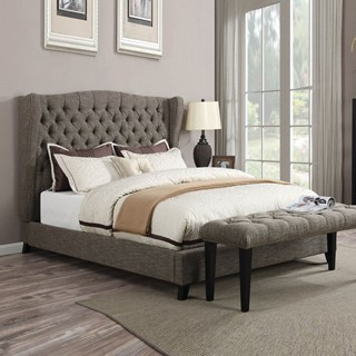 Acme Furniture Faye Chocolate Queen Bed