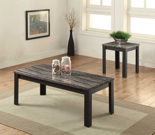 Acme Furniture Arabia Black 2pc Pack Coffee Table Set