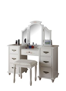 449+ Modern Bedroom Makeup Vanity Sets by The Classy Home