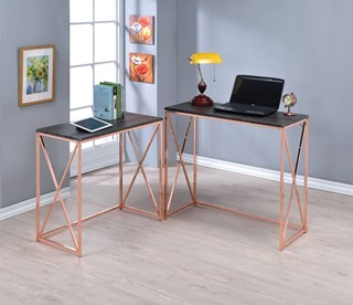 833 office desks by the classy home acme furniture deona weathered dark gray 2pc desk set gumiabroncs Gallery