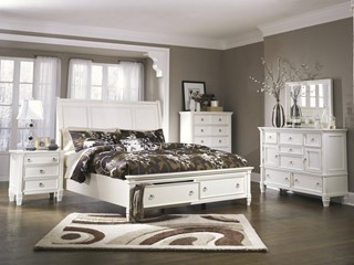Master Bedroom furniture | Black and White Bedroom - The Classy Home