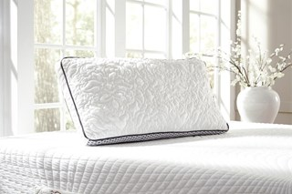 Ashley Sleep Traditional Classics White Dual Side King Pillow