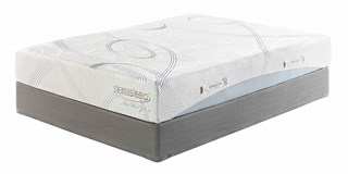 10 Series Gel White Traditional Classics Twin Mattress