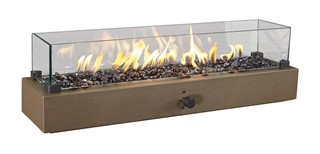 Hatchlands Traditional Glass Table Top Fire Bowl