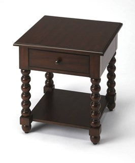 Butler Specialty Plantation Cherry Square End Table