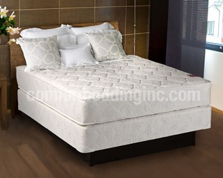 Legacy White Tight Top Gentle Firm Double Sided Full Mattress