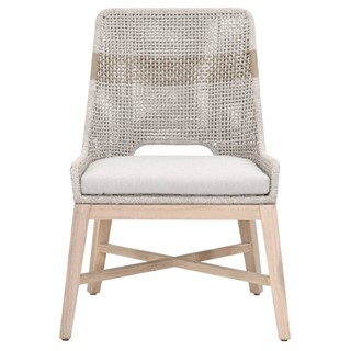 2 Essentials For Living Tapestry Gray Outdoor Dining Chairs